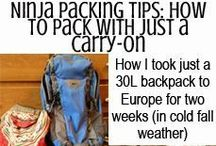 Packing Pointers / Pack this, not that. Do this, not that.