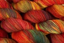 Yarn, wool & fibers / All kinds of yarn, wool and fibercrafts. Spinning and dyeing and felting.