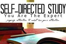 Self-Directed Study / During the month of October, I will be sharing posts with ideas about why and how to create a self-directed study. Paying attention to what has your attention is the essential first step. What piques your interest? Which activities, skill sets and/or authors appeal to you, Braveheart? Will you allow time and space to explore and to value a self-directed study?