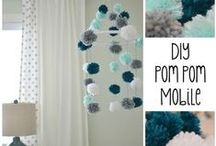 POM POM  Crafts & DIY / Any crafts and DIY's that involve the use of  pom poms