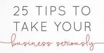 Business Tips / Creative + Freelancing