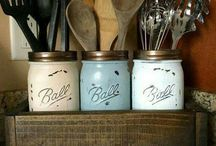 mason jars / Anything to do with mason jars or other jars.  Crafts, DIY or gift ideas.