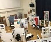 Art, Design & Photography Exhibition 2018 / Art, Design & Photography students produced some stunning end of year work that was exhibited in the Main Hall for the public to see.