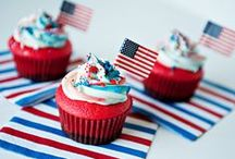 Holidays: 4th of july / Creative food for the 4th of July, recipes, decor, and craft ideas for independence day. / by Miranda Lawton