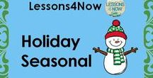 Lessons4Now Holidays/Seasonal