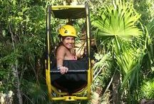 Zip Bike / Discover a new way of exploring the jungle of the Riviera Maya!