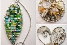 Art *Wire*Jewerly*Accessories*Tips*Tecniques*Tools*Inspiration* / by Evolution Flair with Paige