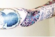 My tattoos / My sleeve. It's a work in progress. And I love it.  / by Heather Pilarczyk
