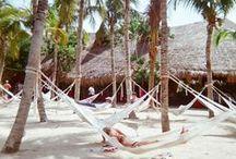 La vida en la Playa / Inspiración acerca de la vida playera, estilo, moda y destinos tropicales.