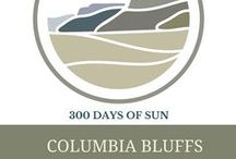 The benefits of sunshine. / Columbia Bluffs typically gets 300 days of sunshine a year! Always check with your doctor to see if sunshine would be beneficial to you and how much exposure you should have.These pins represent ideas of how living in sun 300 days a year may be good for you.