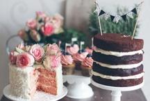 CAKES. / cakes & cake plates