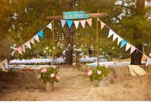 style: rustic summer / wedding day inspiration based on the feel and style of a rustic summer event / by kristin austin