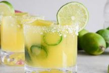 D R I N K Y  D R I N K S / alcoholic and non-alcoholic drink ideas