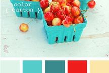 Color Palettes / Colors, paint colors, wall colors, color palettes.