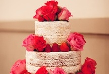 """""""Let them eat cake"""" / wedding food and beverages  / by Sharese Hall"""