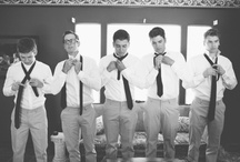 The Wolf Pack!  / Bridal Party: Best Man, Maid of Honor, Groomsmen,  Bridesmaids, Flower Girl, Ring Bearer: party, bonding and outfit ideas / by Sharese Hall
