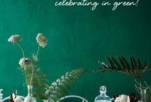 smaragd groen/ emerald
