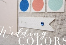 wedding colors / color inspiration to help create the loveliest look for your big day! / by kristin austin