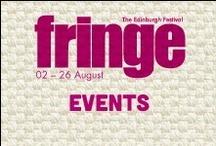 2013 Events / by Edinburgh Festival Fringe Society