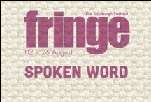 2013 Spoken Word / by Edinburgh Festival Fringe Society
