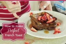 eat // breakfast / Breakfast food recipes, ideas and inspiration.