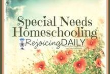 Special Needs Homeschooling / Do you have an out of the box learner? A medically fragile child? You can successfully homeschool your child of any ability. Homeschooling is wonderfully flexible and enriching!