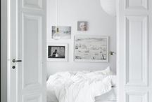 white interiors / wit in het interieur....