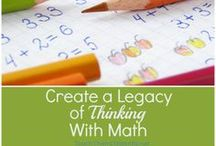 Math / Homeschooling and math leaves many parents uncertain. You can teach your children all levels of math, including upper math, successfully!