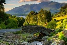 Great Britain / Beautiful places in Great Britain including The Lake District.