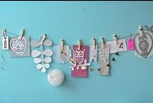 garland / ideas to make a party or your living a good look!