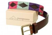 Polo Style / Argentine polo belts from Pampeano and polo fashion from Hackett.
