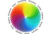 psychologie van kleuren / wat doet kleur met je emotie..