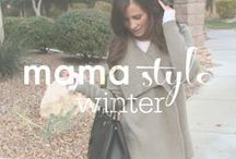 mama style // winter fashion / Winter fashion inspiration for stylish moms.