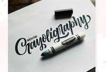 » Brush lettering | Inspiration