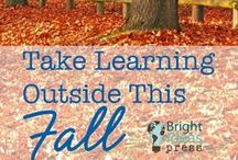 Fall Homeschooling and Fun / The season is changing and so are the leaves. It's time to get back to the routine of learning and preparing for the holidays. What a great time to learn and build memories with your family!