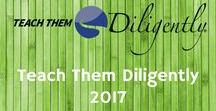 2017 Teach Them Diligently Conventions / Take a look at our fantastic 2017 season of Teach Them Diligently conventions!  Great speakers. Lots of vendors and chance to see your favorite authors. Kids program that is high energy and fun!