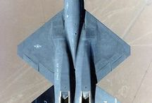 Aviation - Stealth & Reconnaissance Shapes / Looking at the unique shapes and angles of specialised stealth and reconnaissance aircraft.