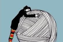 knitting  / by Julie Quellhorst McMiller