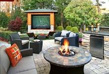 Happier Back Yards / Great design in the back yard or outdoor kitchen can help you live happier OUTSIDE your home! / by Your Total Renovation