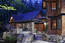 Happier Lodge / Yah--someday we'll build that dream lodge. Even if it's our vacation dream lodge. Love bringing nature INSIDE. / by Your Total Renovation