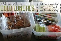 Food - Lunches / Lunches for school and lunches to take to work