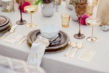 Table set up / by Vicky Alvarez Campos