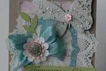 Stampin Up Doily Cards / Delicate Doliy, Hello Doily,  / by Deborah Newman