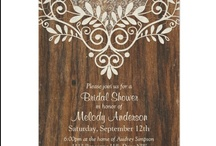 Bridal Shower Stationery and Ideas / Looking for the best bridal shower invitations and other stationery ideas? Then look no further than this board. Bridal shower invitations, recipe cards, binders, thank you cards, and bridal shower games!