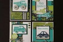 Stampin Up Kids and Baby Cards / Baby and young children cards / by Deborah Newman