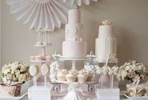 WEDDING FOOD - Dessert Bar / Dessert buffet's will never go out of date. Here's some inspiration for your next wedding, party or event..