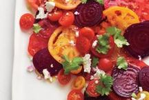 Food - Seasonal Eating: Summer / Food that are great for summer time and use in-season ingredients