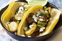 Veggie and Vegan Yum! / Vegetarian and vegan recipes / by Kelly Garza