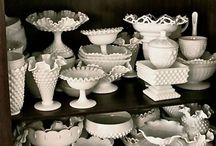 Fenton Hobnail Collection / by Brenda Chapman