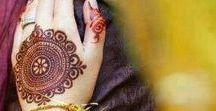 BRIDAL - Mehndi Details / Henna/Mehndi art inspiration for the maharani bride to be..
